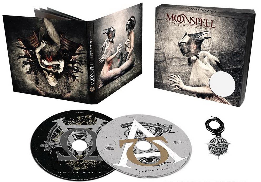 Alpha Noir/Omega White - Moonspell @RottingInPeace