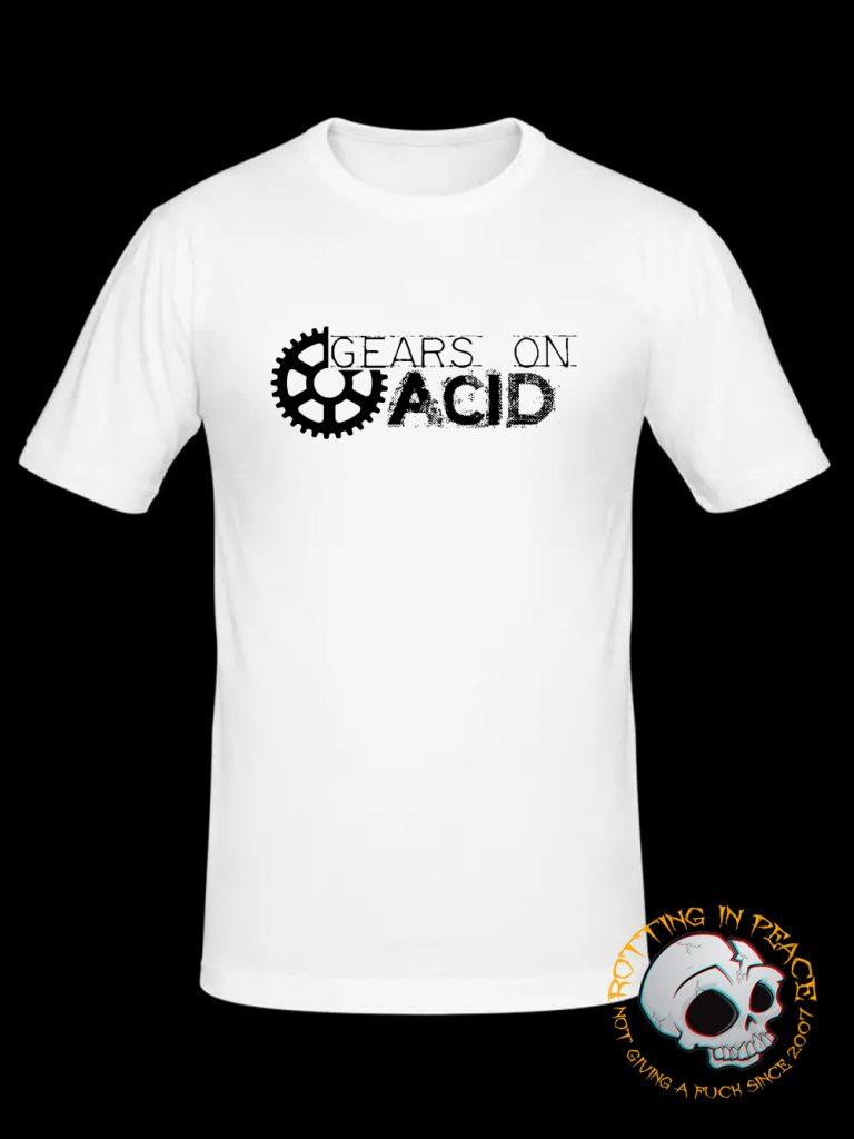 Gears On Acid T-shirt at RottingInPeace Shop
